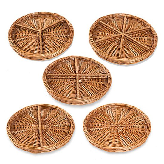 Round Sorting Baskets - set of 5