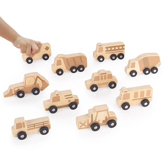 Mini Wooden Vehicles