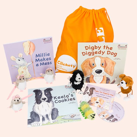 Clickety Books Puppet Bundle 3
