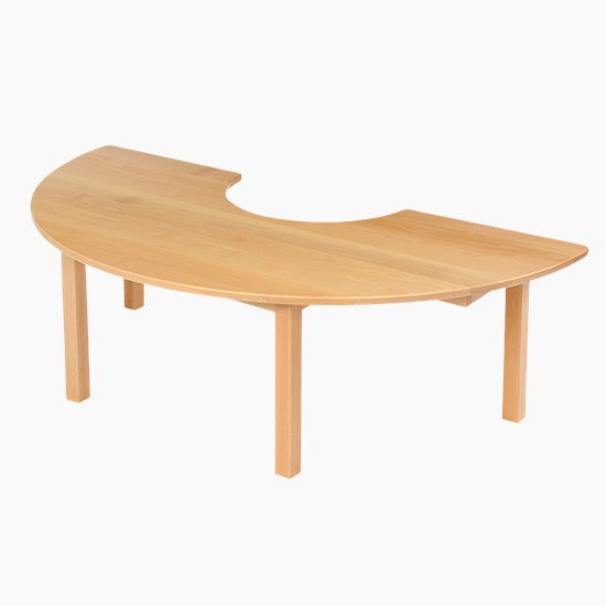 Solid Beech Tables - Shaped