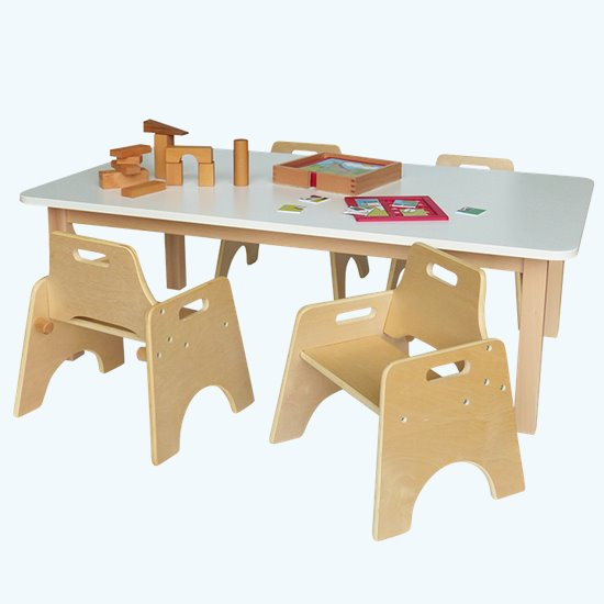 Wobbler Saver Set Rectangular Laminate Top