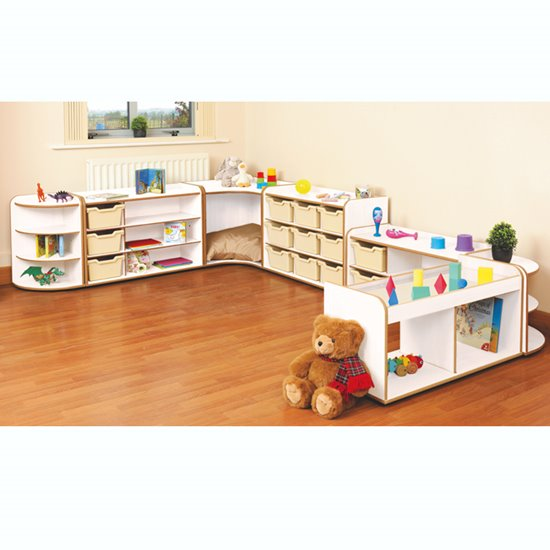 Baby and Toddler Storage Set 2 - White