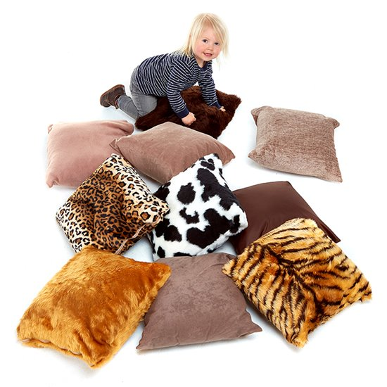 Animal Furry Cushions