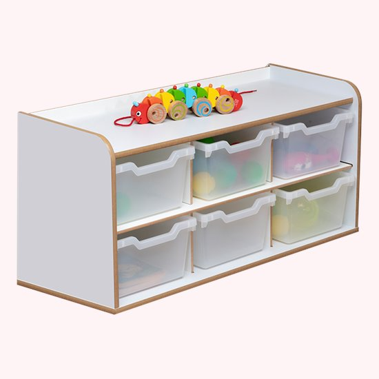 Baby and Toddler Storage - 3x2 Tray