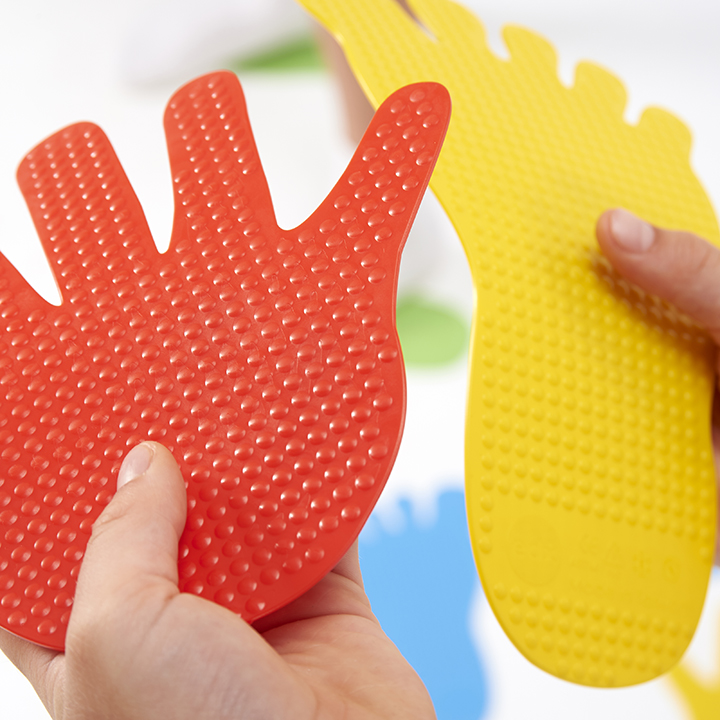 Hands And Feet Floor Markers Early Years Direct