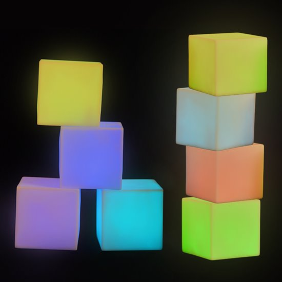 Colour Changing Mood Blocks