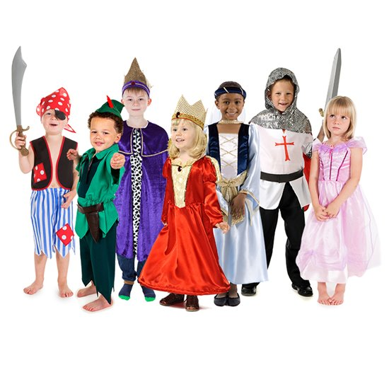 Adventure Costumes - set of 7
