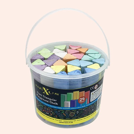 Triangular Playground Chalk